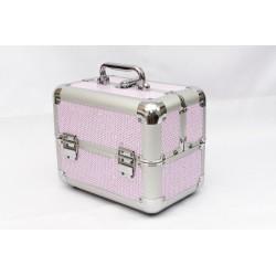 Bőrönd táska csillámos