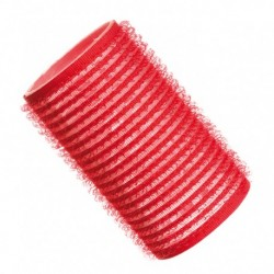 Hajcsavaró öntapadós piros 12db-os 36mm