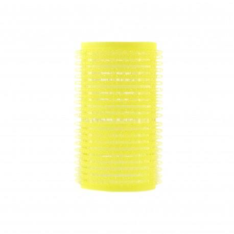 Hajcsavaró öntapadós citromsárga 12db-os 32mm
