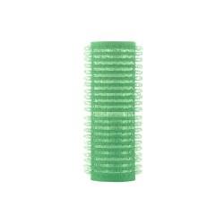 Hajcsavaró öntapadós zöld 12db-os 21mm