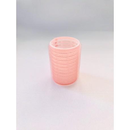 Hajcsavaró öntapadós halvány rózsaszín 12db-os 40mm