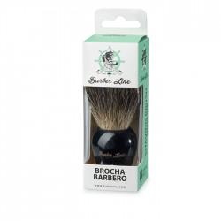 Borotvapamacs fekete barber line eurostil 06183