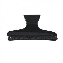 Hajcsat műanyag fekete (12db) 00084/50 Eurostil