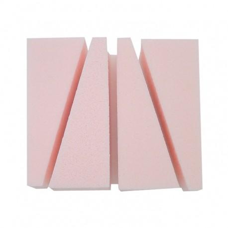 Kozmetikai alapozó szivacs rózsaszín négyzet Eurostil 01361