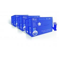 Festőkesztyű nitril púdermentes kék 100db (L)